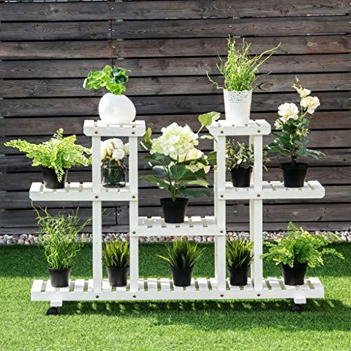 Massivholz Blumentreppen Mehrschichtiges