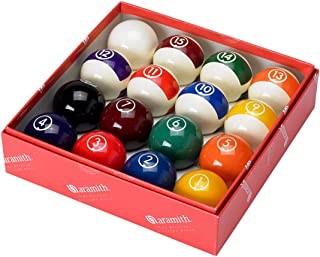 "Aramith Continental 2 1/4"" Billiard Regulation Pool Ball Set/16 Balls"