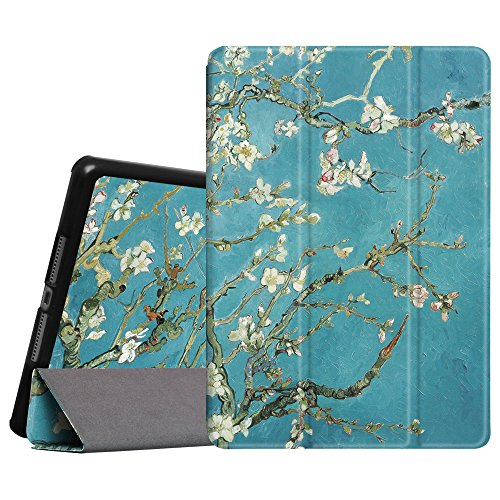 """Fintie Slimshell Case for iPad Air 9.7"""" - Lightweight Stand Smart Protective Cover with Auto Sleep/Wake Feature for iPad Air 2013 Model, Blossom"""