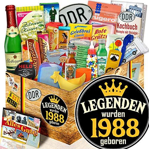 Legenden 1988 / 24x Ostprodukte / Ehemann Geburtstagsgeschenk