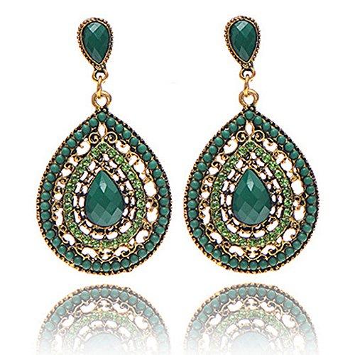 weimay mujeres ni/ñas simple estilo redondo c/írculo Ear Stud Pendientes/ /de regalo 1/par /joyer/ía accesorios/