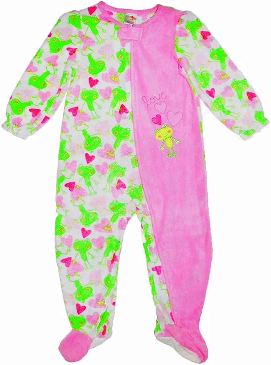 absorba Girl's Adorable Froggy Pajamas/Sleeper