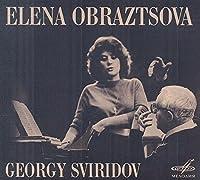 Elena Obraztsova & Georgy Sviridov by Elena Obraztsova
