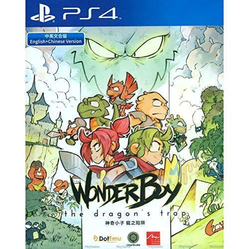 PS4 Wonder Boy: The Dragon's Trap Asian Version