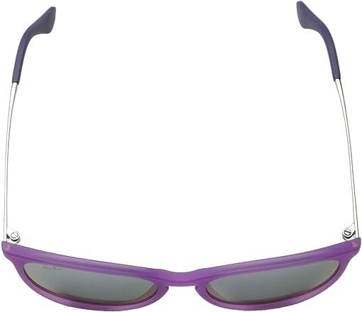 Violet Fluorescent Transparent Rubber