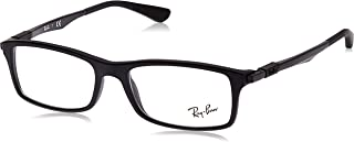 Ray-Ban Women's 0RX 7017 5196 54 Optical Frames, Black