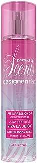 Designer Mist Eau de Toillete Spray, Impression of Viva La Juicy, 4.2 Fluid Ounce