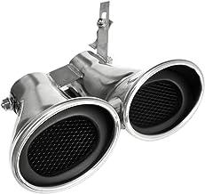 CUHAWUDBA Tubo de Silenciador de Escape Trasero de Acero Inoxidable para AutomóVil Tubo de Cola para Mercedes Clase C W203 C240 C320