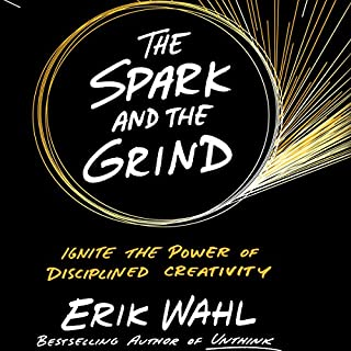 The Spark and the Grind audiobook cover art