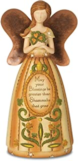 Pavilion Gift Company 29067 Country Soul Irish Blessing Angel Figurine, 6-Inch