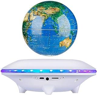 $179 » HXlamp Magnetic Suspension Globe, Rotation Wireless Bluetooth Speaker Light, Levitation Subwoofer, for Office Home Bedroom...