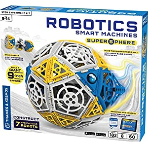 Thames & Kosmos Robotics: Smart Machines - Super Sphere - 61JVA CT AL - Thames & Kosmos Robotics: Smart Machines – Super Sphere
