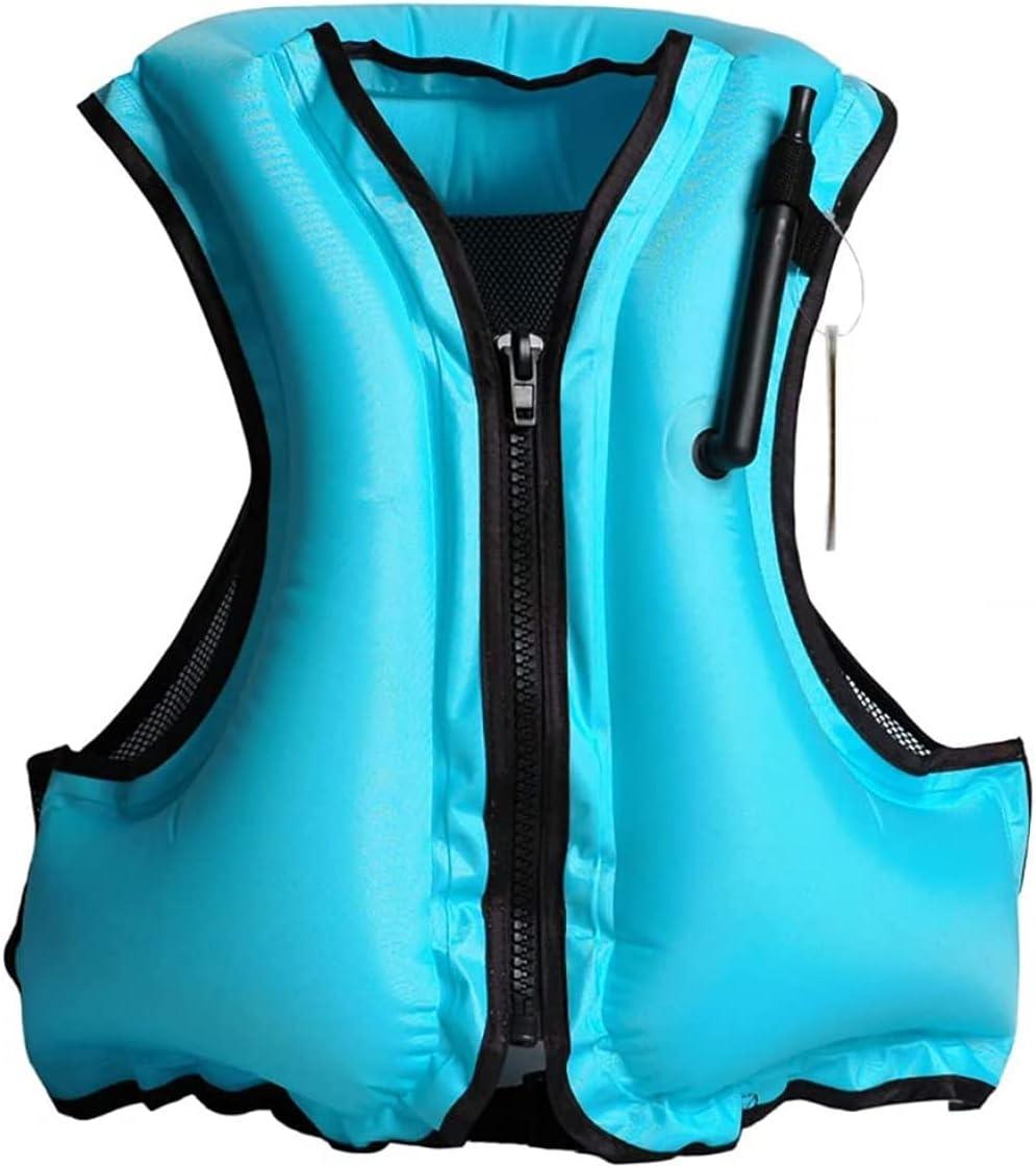 Swim Vest for Adult, Unisex Snorkel Vest Swim Float Vest Portabl