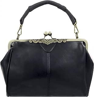 Women Retro Hollow out PU Leather Handbag