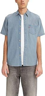 Men's Classic 1 Pocket Short Sleeve Button Up Shirt