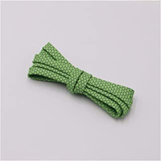 FDBHA Shoelace Runners Woven Belt Sports Safety Shoelaces Shoelaces for Running Shoes (Color : 312 Apple Green 3M, Size : ...