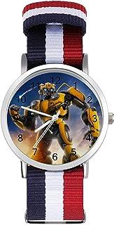 Bumblebee Transformers reloj de ocio para adultos, moderno, hermoso y personalizado aleación Shell casual reloj deportivo ...