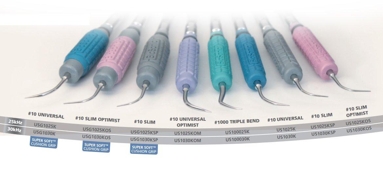 Coltene USG1025K Ultrasonic Scaler 10 1 unisex year warranty Inserts Superso Universal