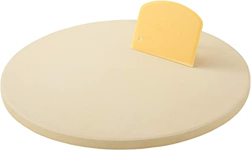 Unicook-Pizza-Stone,-10.25-Inch-Round-Pizza-Grilling-Stone