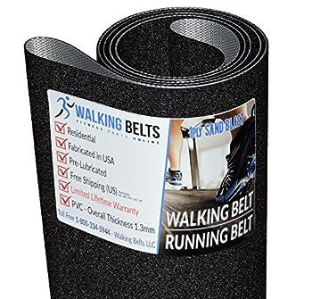WalkingBeltsLLC - ProForm Performance 600i PFTL795151 Treadmill Running Belt 1ply Sand Blast + Free 1oz Lube