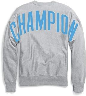 قميص رياضي رجالي بنسيج عكسي من Champion LIFE رمادي أكسفورد، مقاس صغير