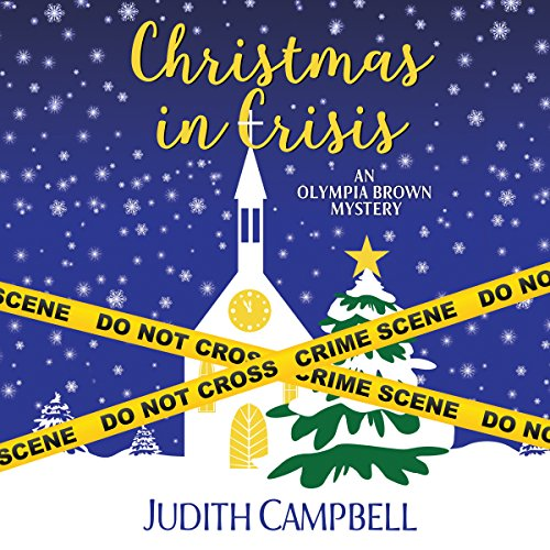 Christmas in Crisis (Olympia Brown Mystery Book 11) audiobook cover art