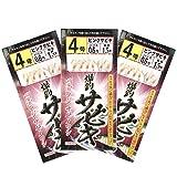 RISEWAY(ライズウェイ) ピンクスキンサビキ 3枚組 4号