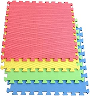 Justdodo 36pcs 5.5 5.5cm ecol/ógicos EVA Puzzle s/ímbolos Ruso Digital Geometr/ía Matem/áticas Educaci/ón Puzzle Mats Juguetes para los ni/ños