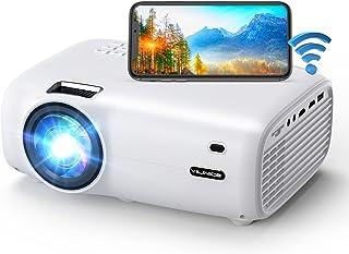 WiFi Projector, Native 1080P Bluetooth Video Projector,...