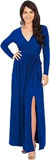 bright blue lace hem slip dress