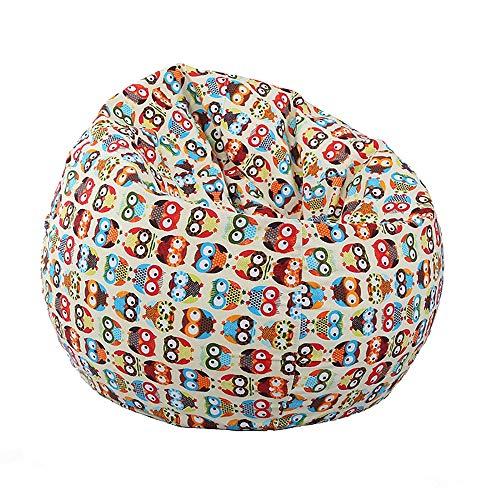 Langyinh, pouf per divano – poltrona a sacco in memory foam morbido e traspirante, rilassante lo schienale, adatto a tutte le età, formato A1,23 x 29,5 cm