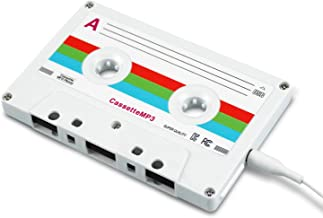 $32 » 8BEAT Cassette MP3 Player (White) | Portable Music Player | Lossless Music Player with Headphones | 8GB USB MP3 Player for...