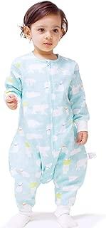 SINCERE Muslin Original 100% Cotton Sleeping Sack Bag Baby Wearable Blankets Long Sleeves