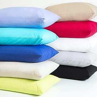MoonRest Body Pillow Pillowcase Luxury High Count Thread with Hidden Zipper -%100 Cotton Size 20 x 54 Inch (Purple)