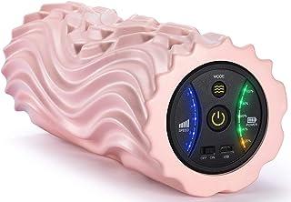 電動 フォームローラー 2020最新版 強い振動 振動 マッサージポール ローラー 電動マッサージ ストレッチローラー トレーニング 5段階振動調整 スポーツ フィットネス ヨガポール 健康器具 筋膜 ストレッチ器具 日本語取扱説明書付き