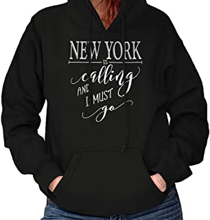 New York is Calling Love Traveling NY Gift Hoodie
