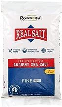 Redmond Real Sea Salt - Natural Unrefined Organic Gluten Free Fine, 25 Pound Bag