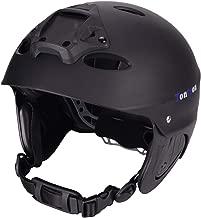Tontron Adult Water Skateboard Bike Multi Sports Helmet with Go Pro Mount Plate