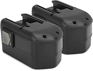 PowerGiant 18V 2.0Ah NiCd Replacement Battery for Milwaukee 48-11-2230 48-11-2232 48-11-2200 0522-20 6310-20 0524-20 (2 Pack)