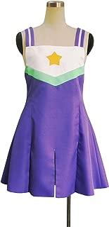 YuanCos Lucky Star Patoricia Hiyori Minami Misao Purple Daily Dress Cosplay Costume