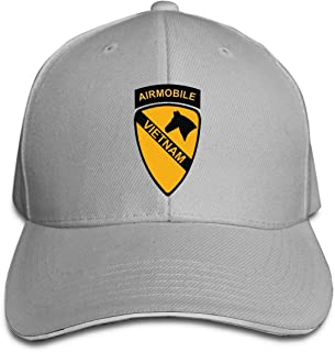 1st Cavalry Air Mobile Vietnam Unisex Baseball Caps Plain Caps Jeans Caps Dad Cap