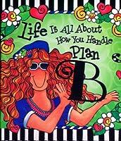 ブルーMountain Arts Life is all about how youハンドルプランB by Suzy Toronto Little Keepsake Book (kb245)