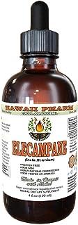 Elecampane Alcohol-Free Liquid Extract, Organic Elecampane (Inula Helenium) Dried Root Glycerite Hawaii Pharm Natural Herb...