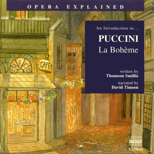 Puccini: La Bohème audiobook cover art