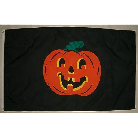 3x5 Trick or Treat Pumpkin Jack O Lantern Face Flag Happy Halloween Banner F1