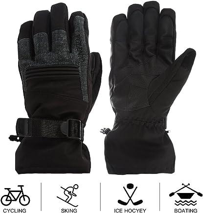 DDBO Girls Lovely ski gloves Waterproof children winter outdoor Ski Gloves