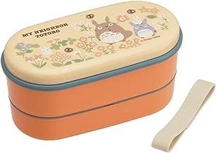 Officially-Licensed My Neighbor Totoro Lunch Box Studio Ghibli Bento Box (Volume: 380ml + 250ml)