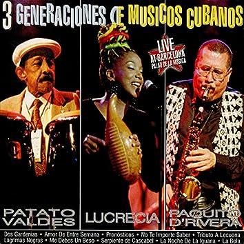 3 Generaciones de Músicos Cubanos