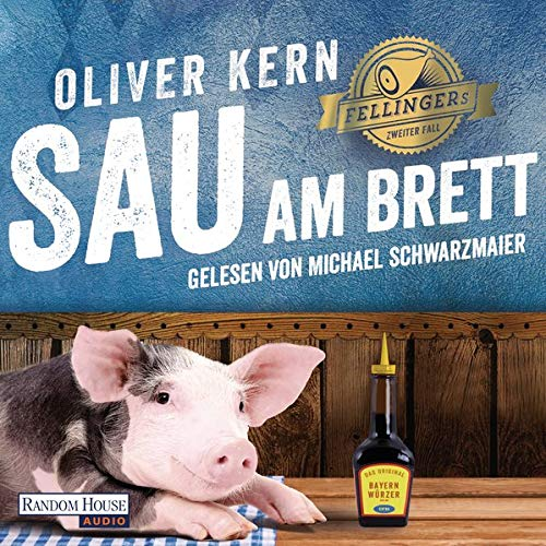 Sau am Brett Audiobook By Oliver Kern cover art