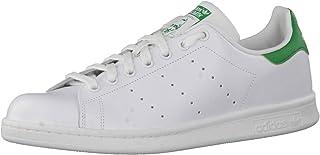 Adidas Originals Adidas Stan Smith M20324, Sneaker Basse Homme, FTWR White/Core White/Green, 39 1/3 EU